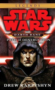 The Darth Bane books are confirmed as Legends.