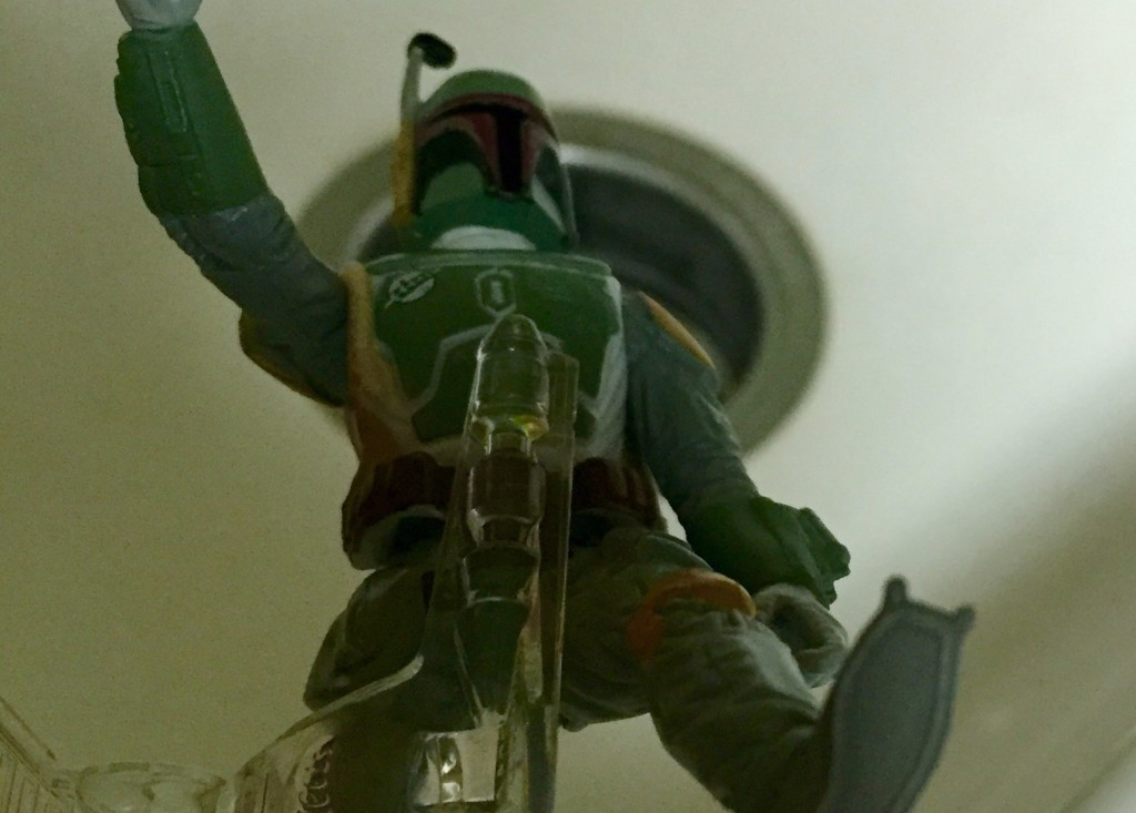 Boba Fett Sink Death Cut
