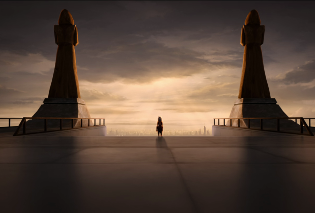 Ahsoka Walking Away